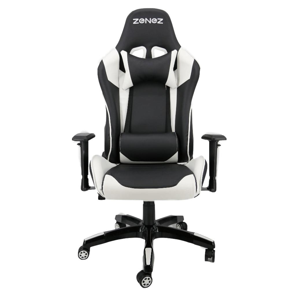 ZENEZ Gaming Stuhl; Bürostuhl in verschiedenen Farben, Edelstahlrahmen; Kunstleder; Liegefunktion. für 109,99€ Versand aus Spanien.
