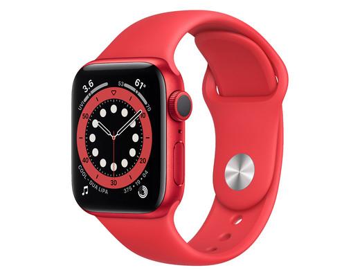 Apple Watch Series 6 / 40mm / rot