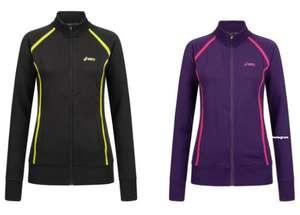 ASICS Full Zip Damen Fleece Jacke in zwei verschiedenen Farben & vielen Größen