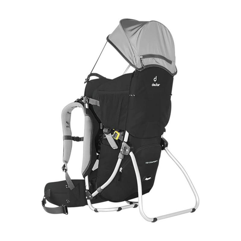 Deuter Kid Comfort I - Kindertrage Comfort Set (Farben: Black, Cranberry und Alpingreen)