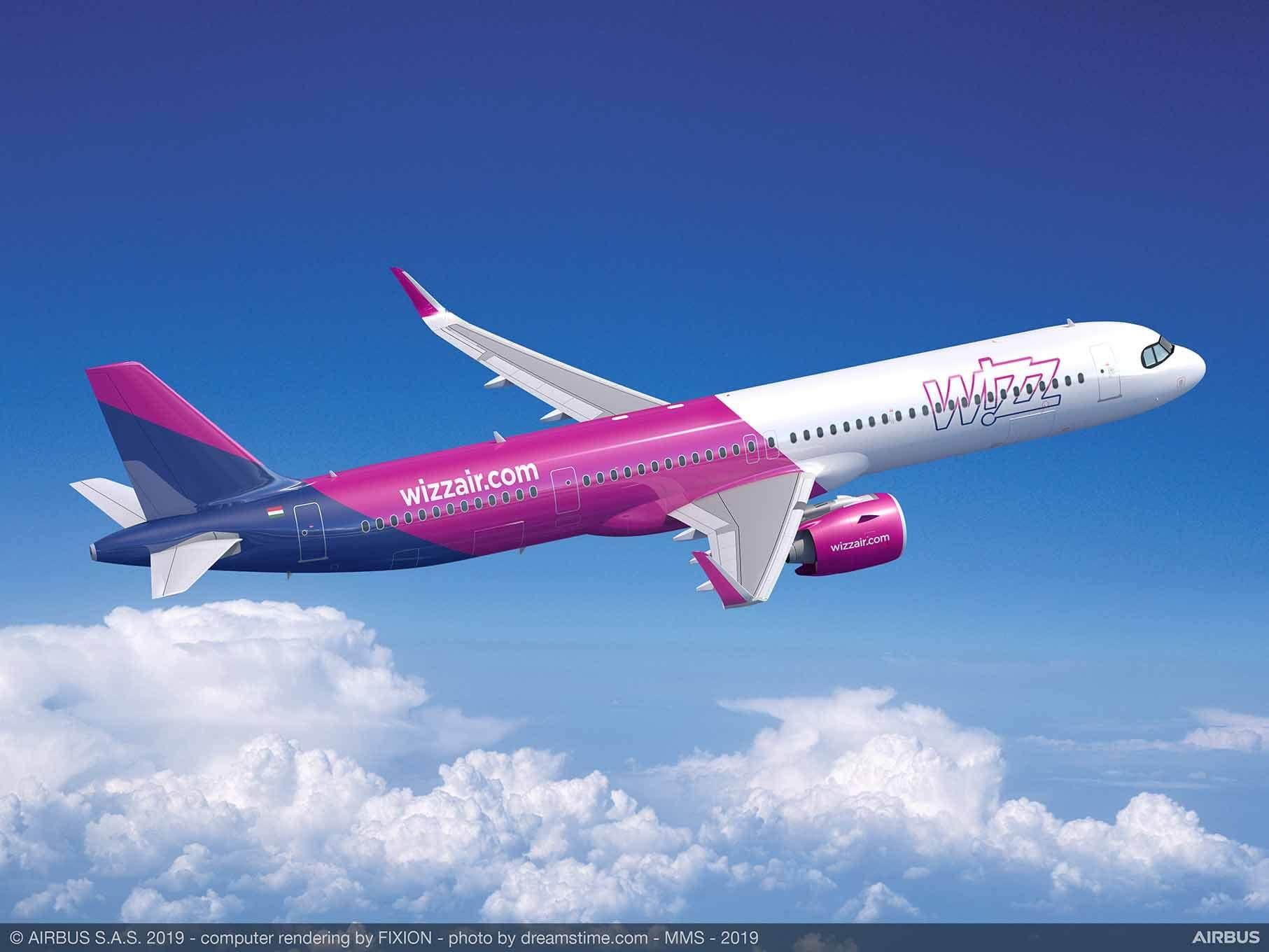 Wizz Air -35% Nur heute