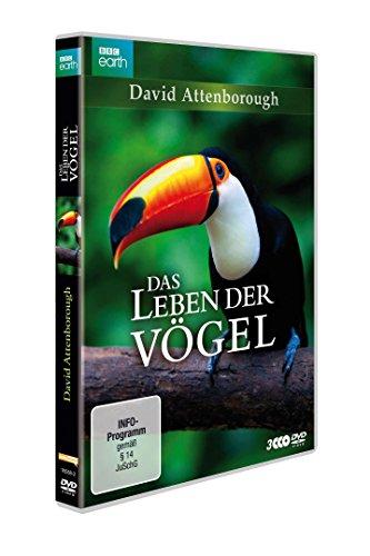 David Attenborough: Das Leben der Vögel - Die komplette Serie [3 DVDs]