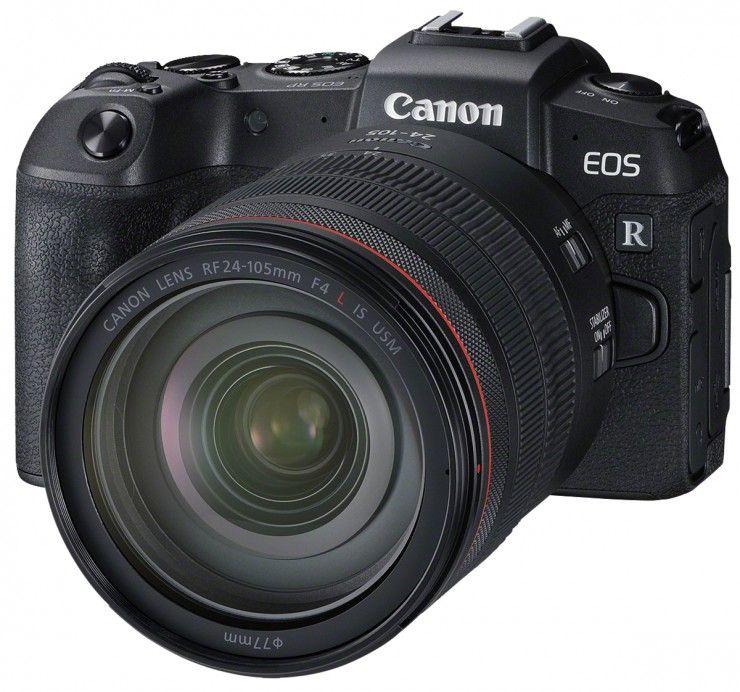 Canon EOS RP + Kit Objektiv RF 24-105mm F4-7.1 IS STM
