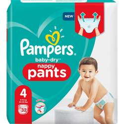 Pampers Baby Dry in 1+1 Aktion um 15 Cent/Stück
