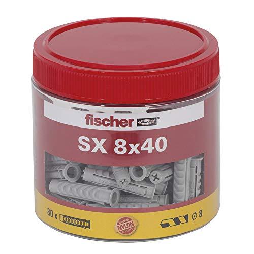 80Stk. Fischer Spreizdübel SX 8 x 40