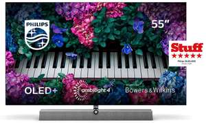 """Philips """"55OLED935/12"""" 55 Zoll OLED TV + 4-seitiges Ambilight + Bowers & Wilkins Sound"""