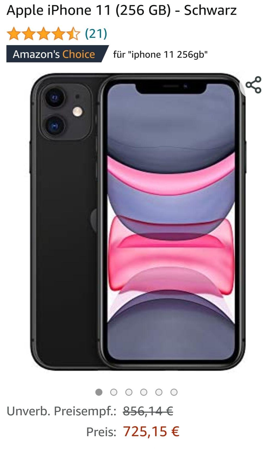 Apple Iphone 11 256gb Schwarz auf Amazon.de