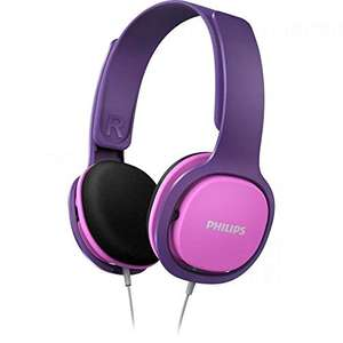 Philips On-Ear Kinderkopfhörer, pink