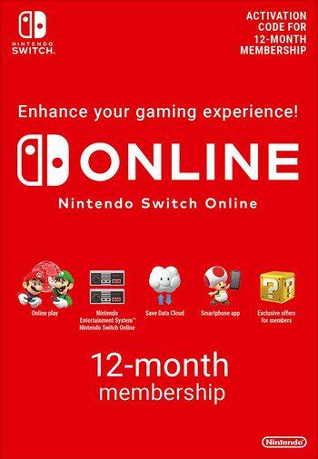 12 Monate Nintendo Switch Online / Online Family um 14,99€ / 26,16€ \\ 15€ Nintendo Gift Card um 12,89€