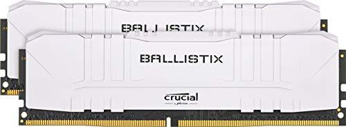 Crucial Ballistix BL2K16G36C16U4W weiß DIMM Kit 32GB, DDR4-3600