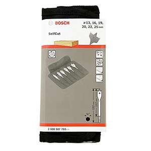 Bosch Professional Self Cut Speed Fräser-Set, 6-tlg