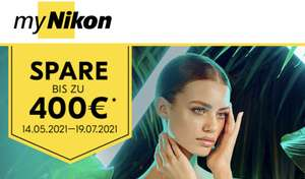 Nikon SOFORT-RABATT-AKTION