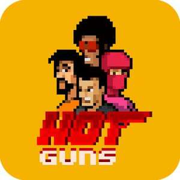 """Hot Guns"" (iOS/Android) gratis im Google PlayStore oder Apple AppStore - ohne InApp-Käufe -"