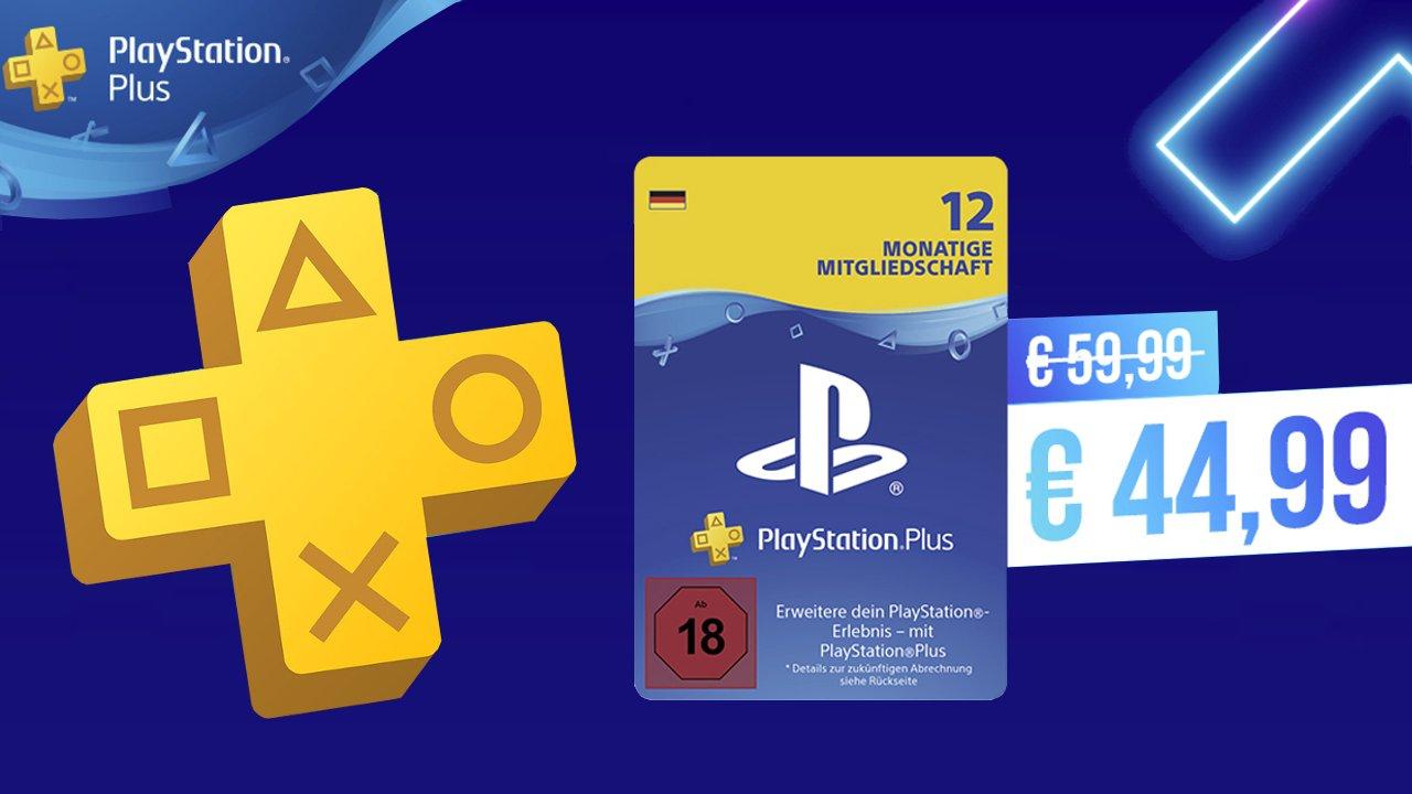 PS Plus Jahresabo um 44,99€ im PSN Store ab 1. Juni. 21
