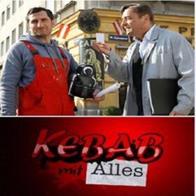 """""""Kebab mit Alles"""" mit Andreas Vitásek, Michael Ostrowski, Fanny Stavjanik,... gratis als Stream aus der ORF TVTHEK"""