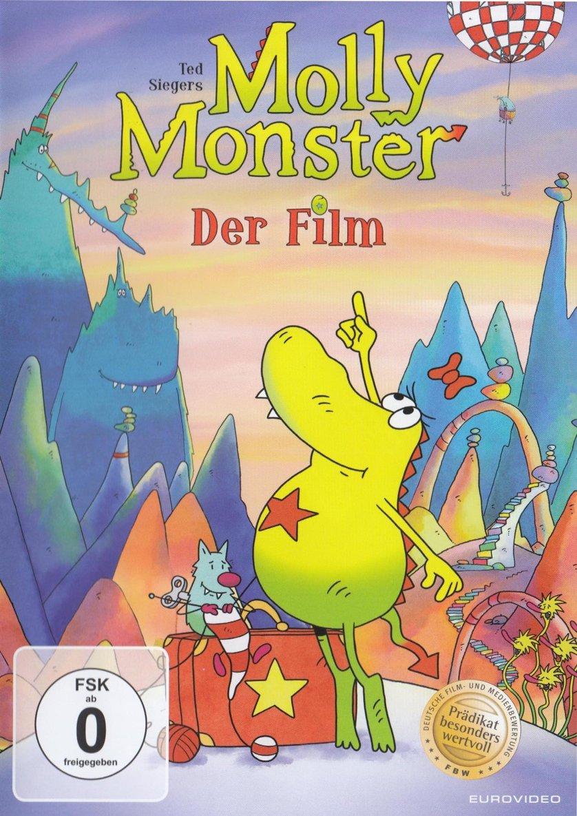 """""""Ted Sieger's Molly Monster - Der Kinofilm"""" gratis als Stream oder zum Herunterladen aus der ARD Meditathek"""