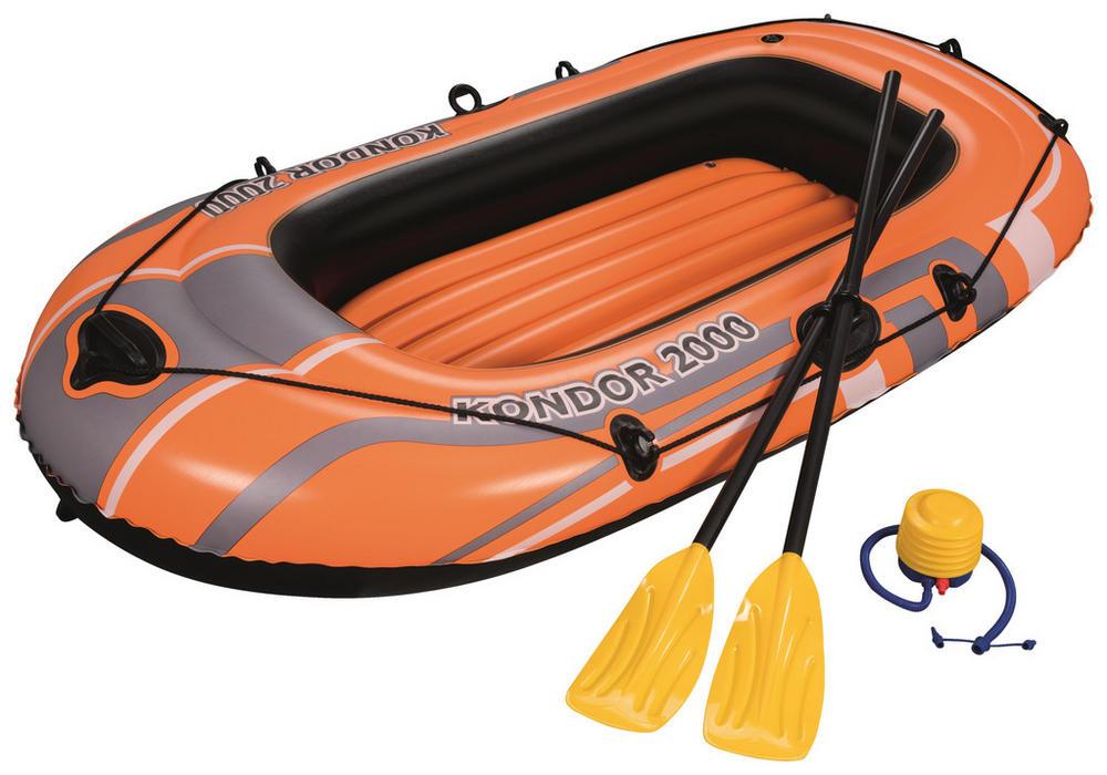 Schlauchboot für jede Menge Paddelspaß
