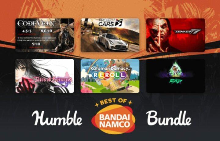 """Humble Best of BANDAI NAMCO Bundle"": TEKKEN 7, CODE VEIN, PAC MAN 256, KATAMARI Damacy Reroll, RAD, Tales of Zesteria + Besteria, ..."