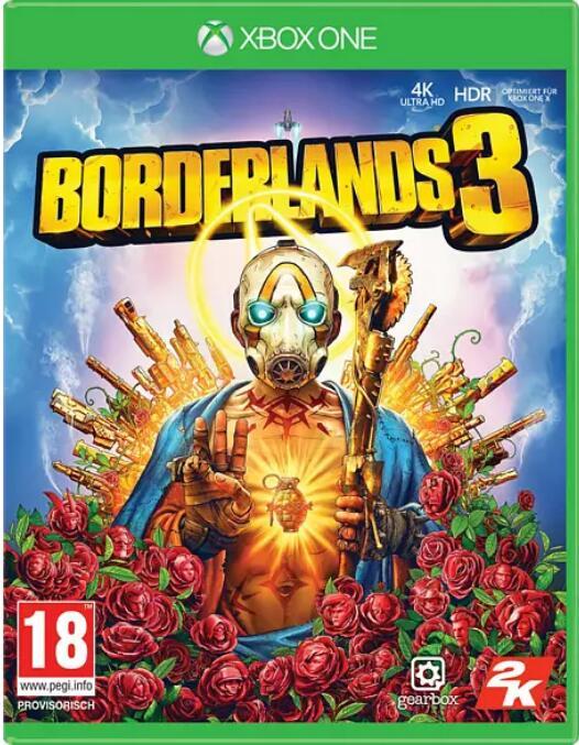 """""""Borderlands 3 STANDARD EDITION"""" (XBOX One) zum Looterpreis bei Media Markt"""
