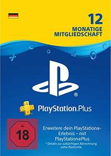 PlayStation Plus Mitgliedschaft | 12 Monate Download Code