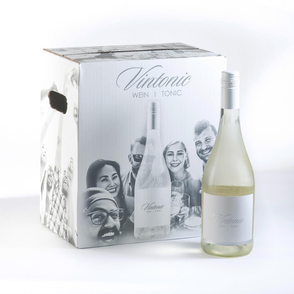 VINTONIC - Wein & Tonic - das Sommergetränk 2021 bei INTERSPAR und EUROSPAR aktuell um nur 3,99 Euro pro Flasche.