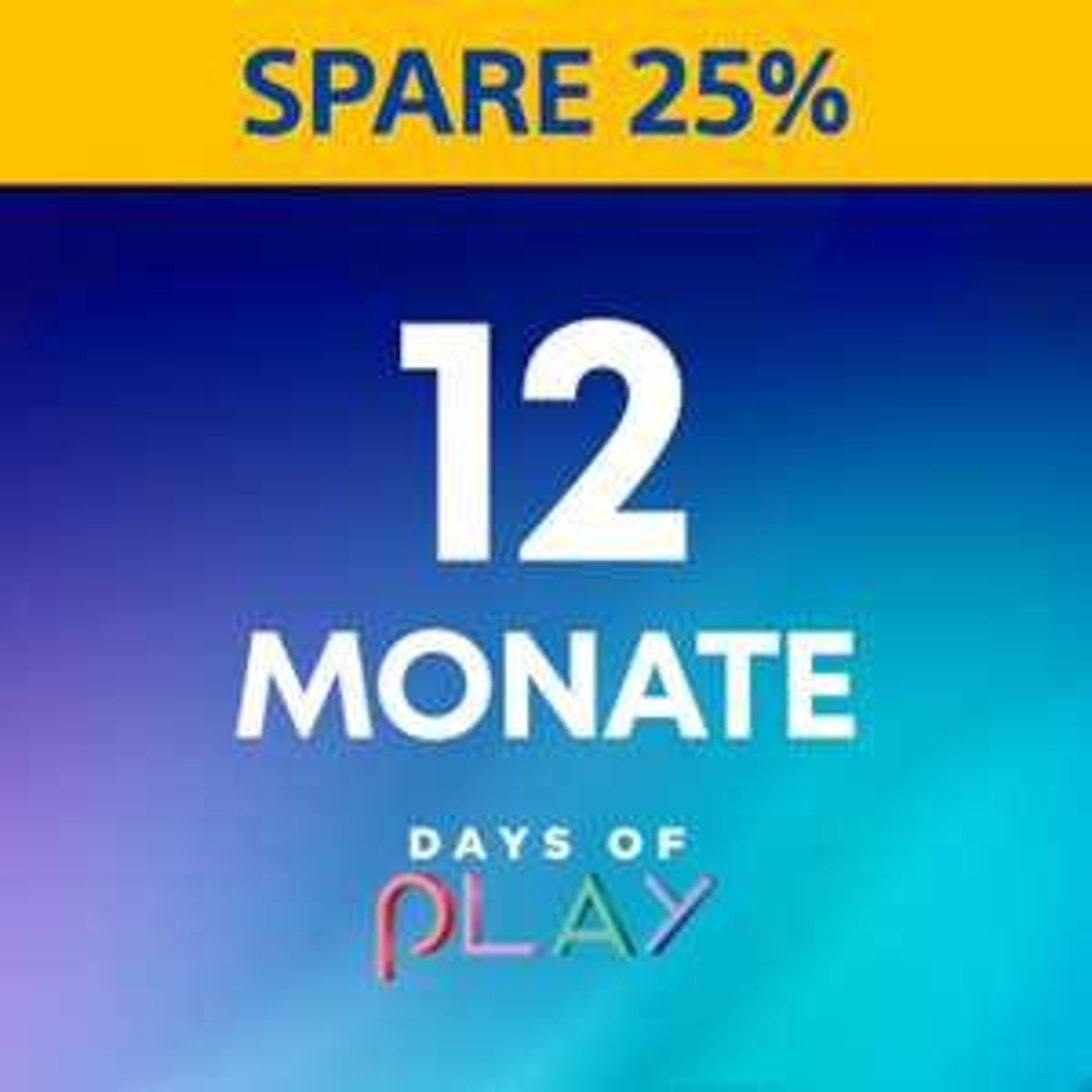 PlayStation Plus 12 Monate + 5€ Restguthaben