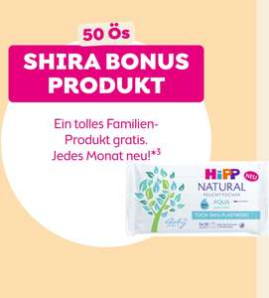 BIPA - Bonusprodukt Family - Juni 2021 für 50 JÖ Punkte