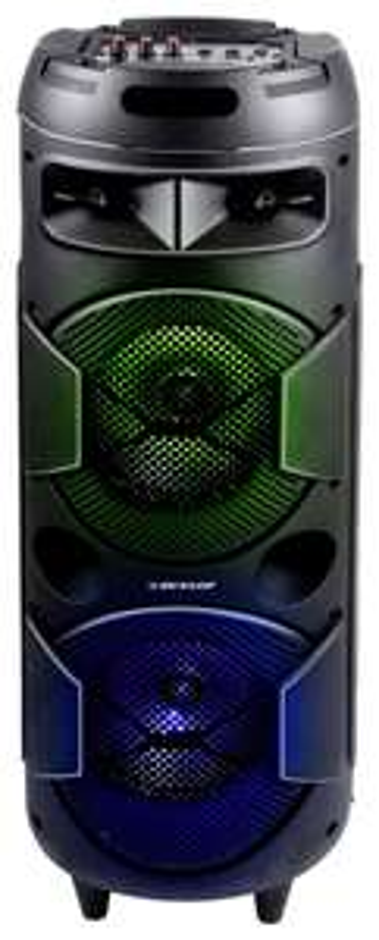 "Dunlop ""Karaoke Box"" tragbarer Akku Bluetooth Speaker (120W)"