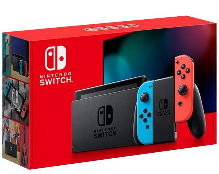 Nintendo Switch, rot/blau