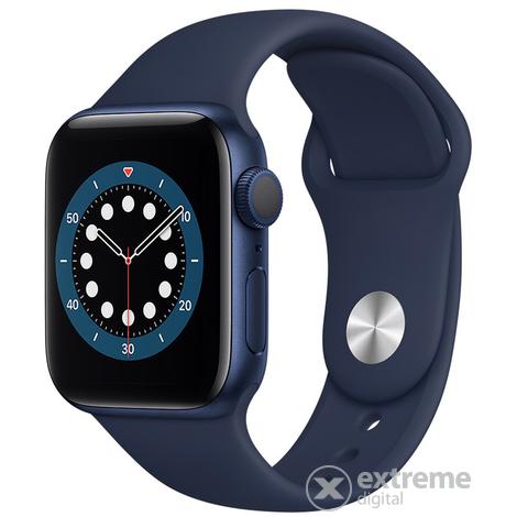 Apple Watch Serie 6 (40mm, blau)