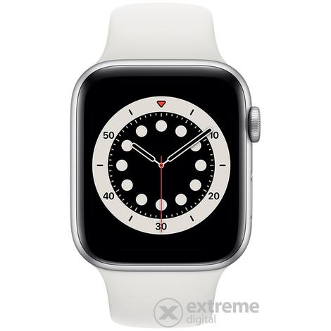 Apple Watch Series 6 (44mm, silber)