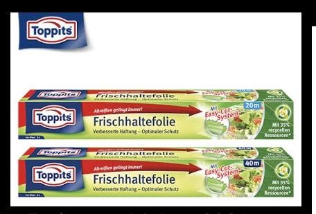 Toppits Frischhaltefolie 20m mit Scondoo