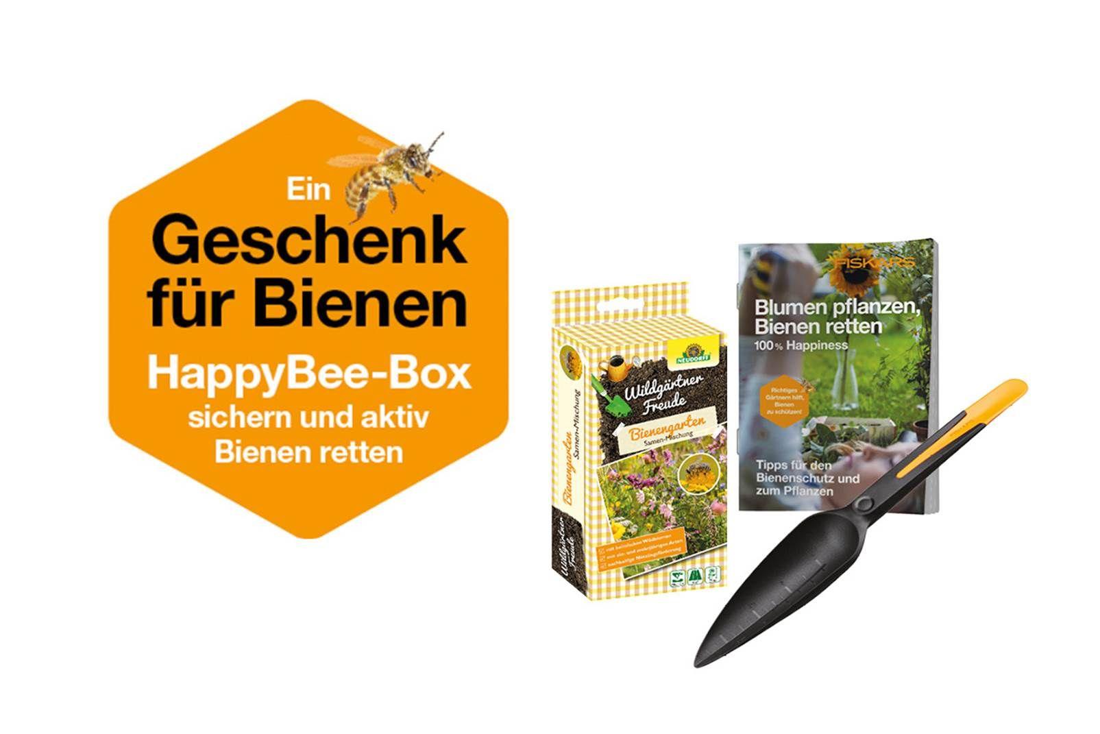 Gratis Bienenbox ab 75€ Fiskars-Produkte (Obi)