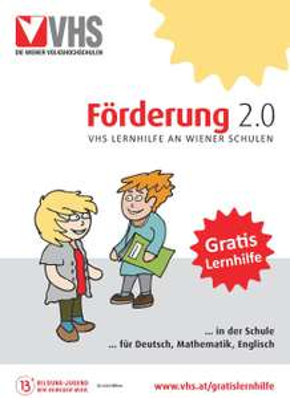 """""""Förderung 2.0"""" - Gratis Lernhilfe in Wien"""