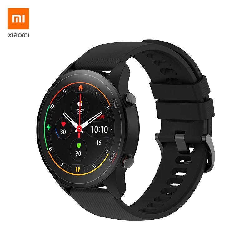 XIAOMI Mi Watch, Smartwatch; Global Version; Fitness Tracker; AMOLED-Display; GPS; Versand aus der EU für 79,99€