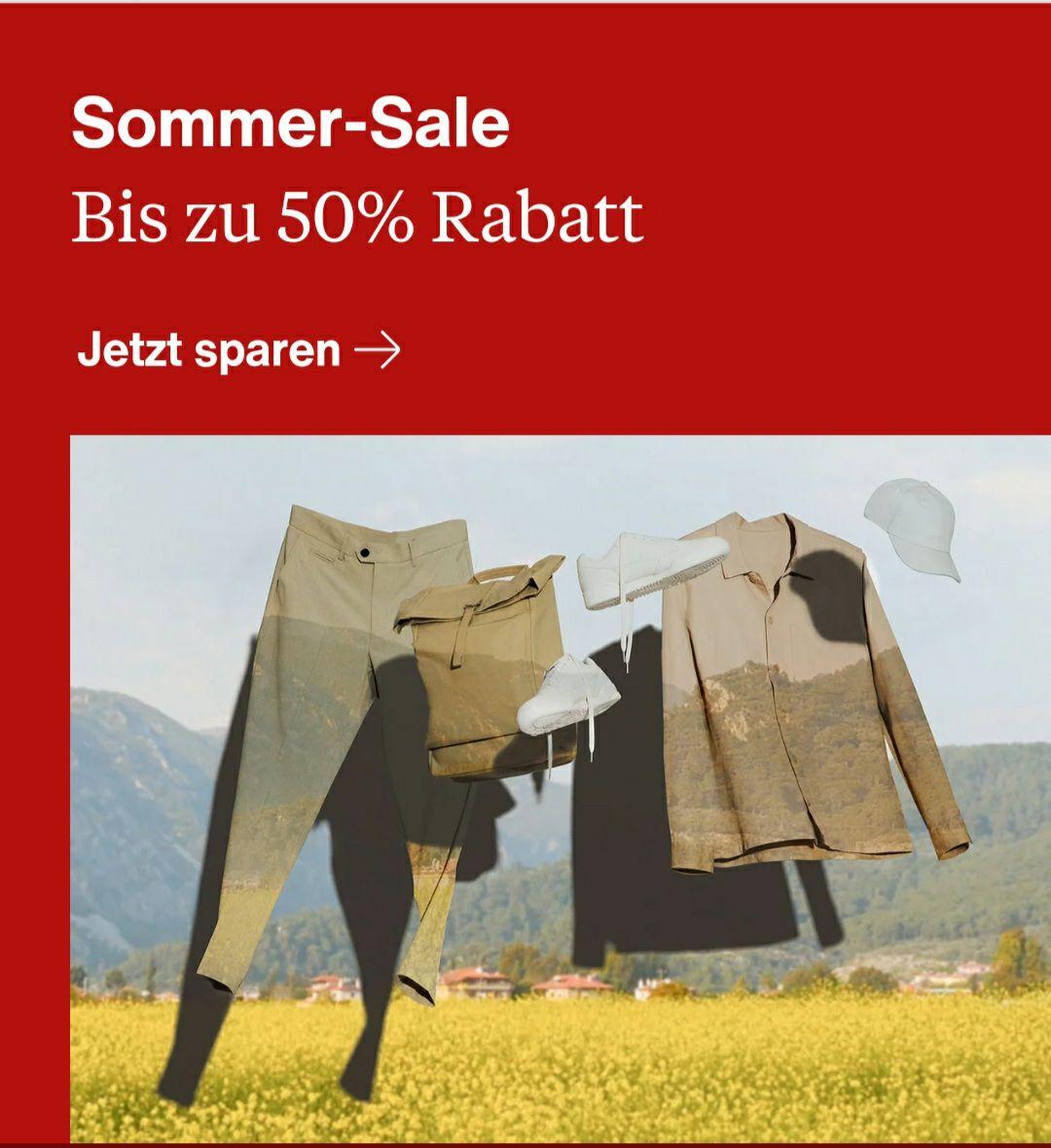 SOMMER-SALE bei Zalando. BIS zu -50% auf ausgewählte Artikel