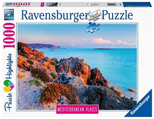Ravensburger Puzzle 14980 - Mediterranean Places Greece - 1000 Teile