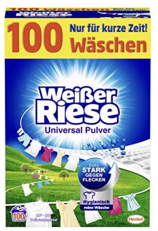 Weisser Riese Waschpulver 100WG