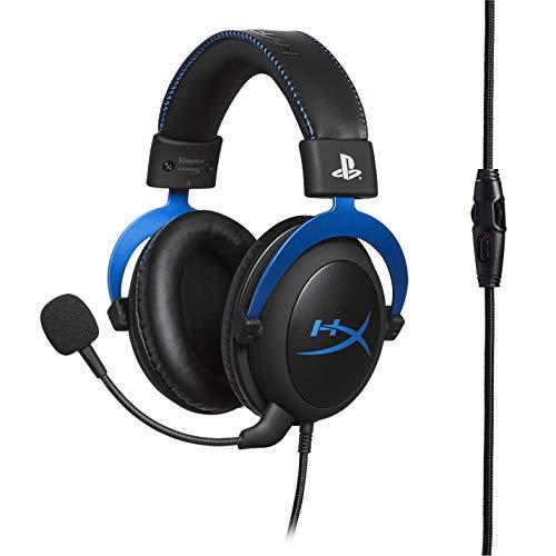 HyperX HX-HSCLS-BL Cloud Gaming Kopfhörer für PS4 mit In-Line Audio Control