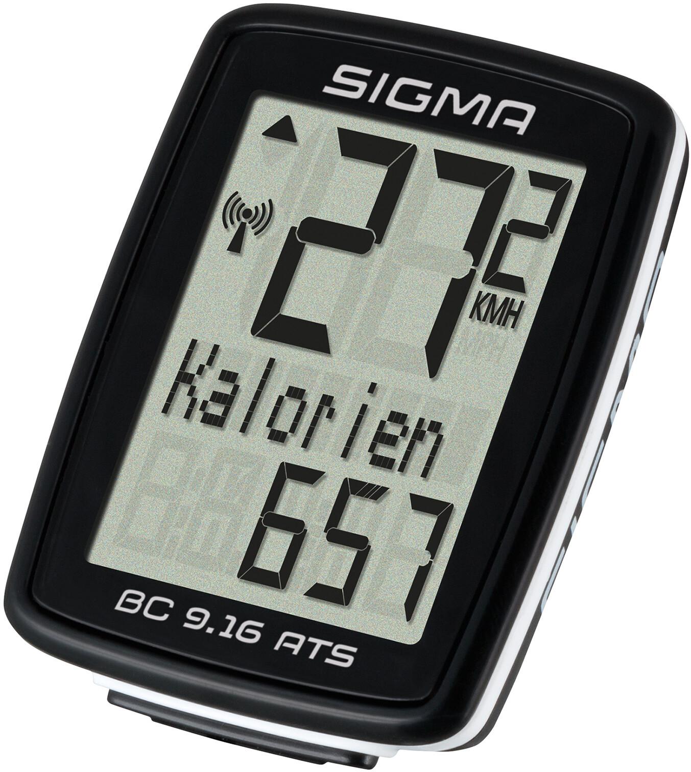 "Sigma ""Sport BC 9.16 ATS"" Fahrradcomputer"
