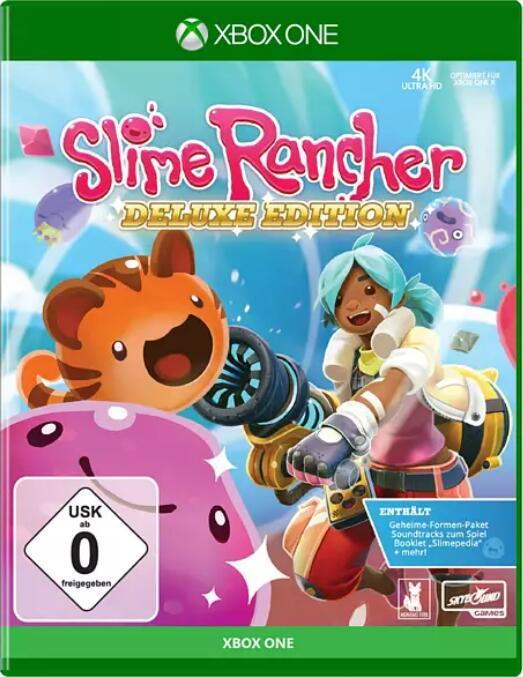 """""""Slime Rancher Deluxe Edition"""" (Xbox One) bei Media Markt - toller Preisnachlass, ganz ohne Rumschleimen (oder doch nicht?)"""