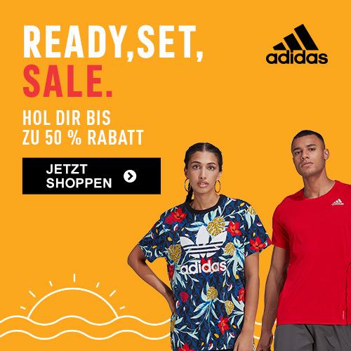 Adidas: Sale - bis zu 50% Rabatt auf Produkte im Outlet