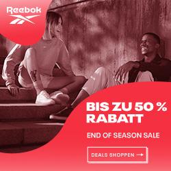 Reebok: Sale - bis zu 50% Rabatt auf Produkte im Outlet