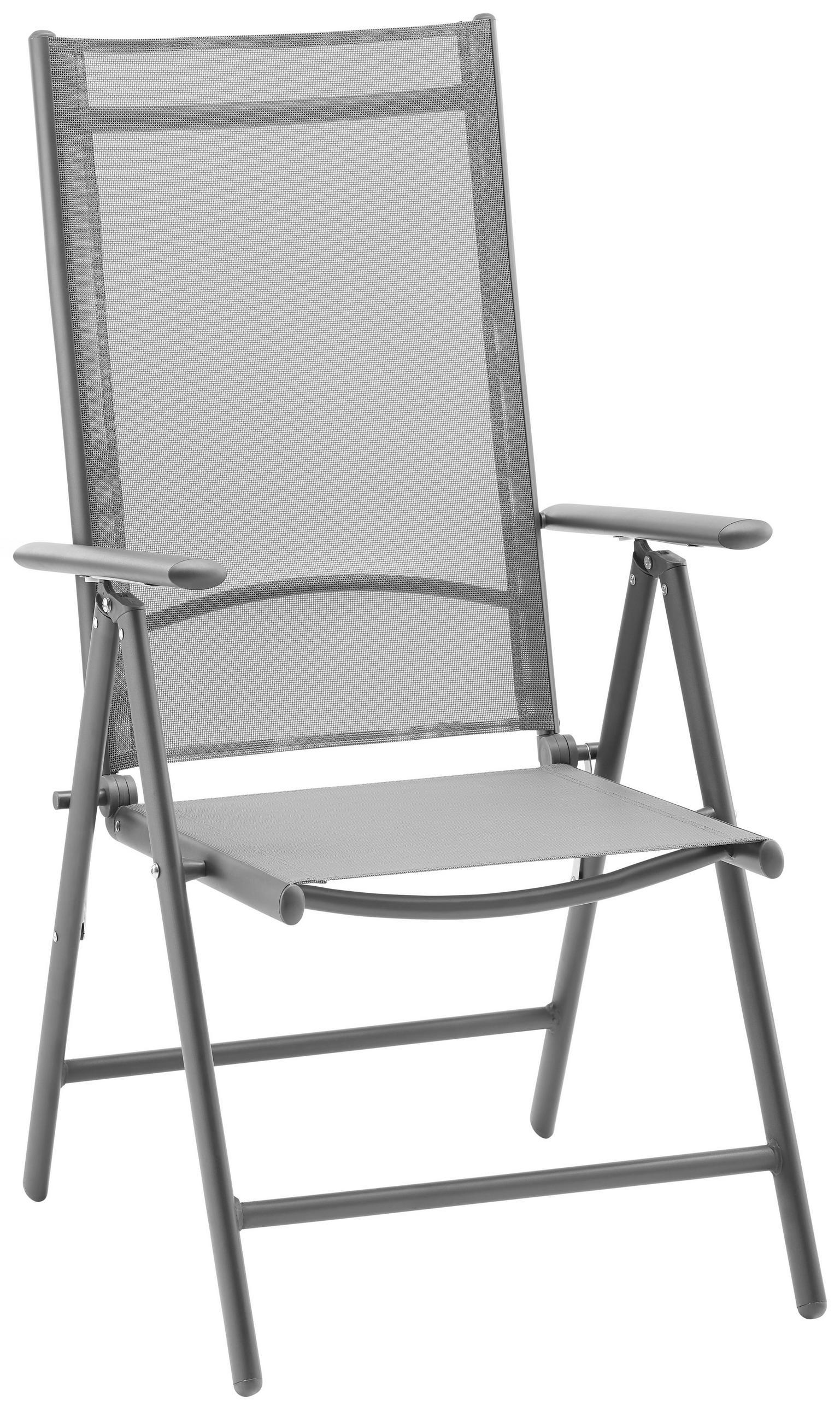 Garten-Relax-Klappstuhl aus Aluminium