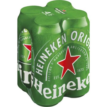 (Spar) GRATIS - 4x 0,5l Heineken Dosen Bier - bis 19.6.2021