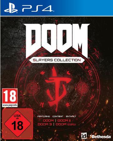 """""""Doom Slayers Collection"""" (PS4) zum höllisch guten Preis bei Gamestop (Space Marines holen selber ab) oder Amazon (Space Abholstation)"""