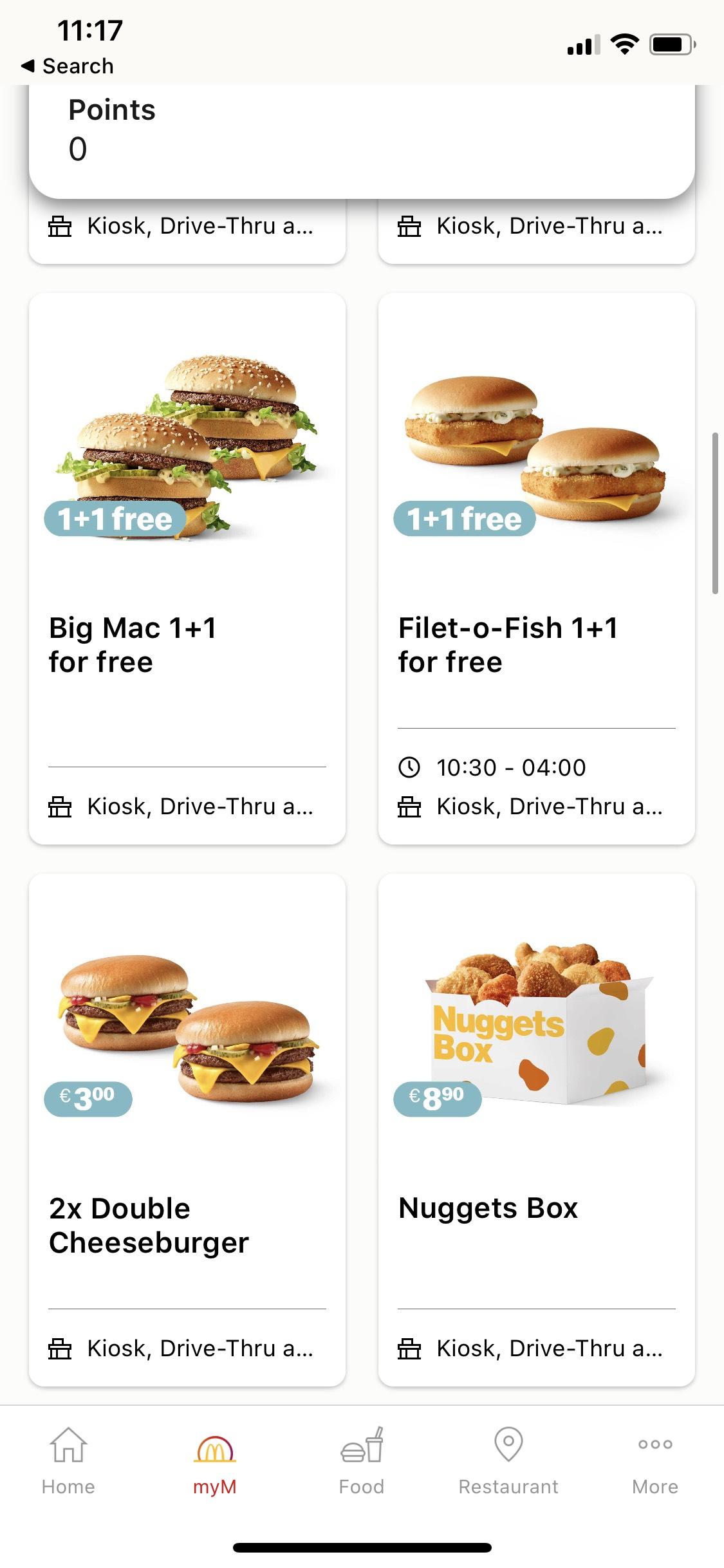 Neue Geile Gutscheine in Mci App