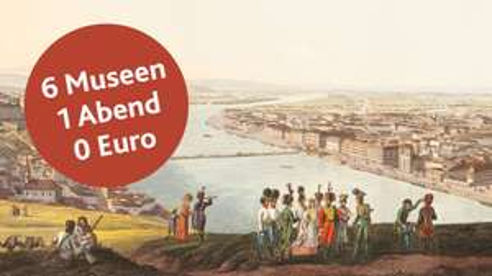 6 Museen - 1 Abend - 0 Euro