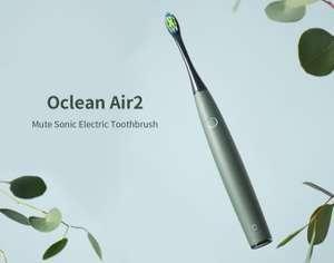 Oclean Air 2; elektrische Zahnbürste / Schallzahnbürste IPX7, in versch. Farben für 18,50€ Versand aus der EU