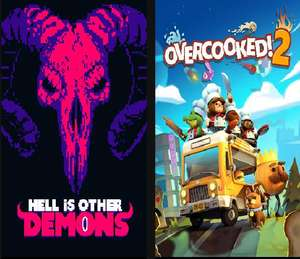"""""""Overcooked 2"""" + """"Hell is other Demons"""" (Windows PC) gratis im Epic Store ab 17.6. um 17 Uhr"""